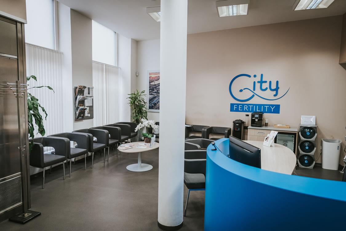 City Fertility Waiting Room